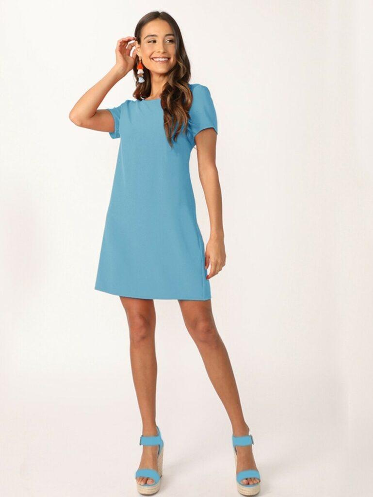 Vestido-Azul-Shein