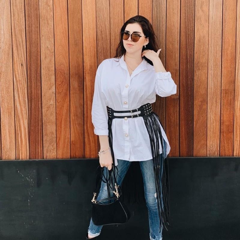 Camisa Blanca de Shein