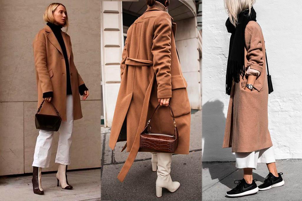 El Abrigo Camel de moda en 2020