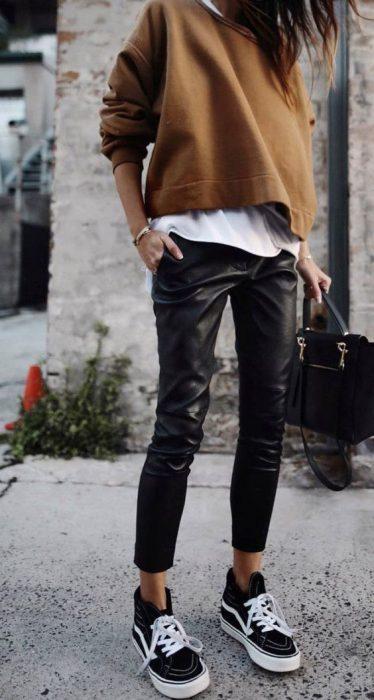 Pantalones Cuero, piel, polipiel, leggins