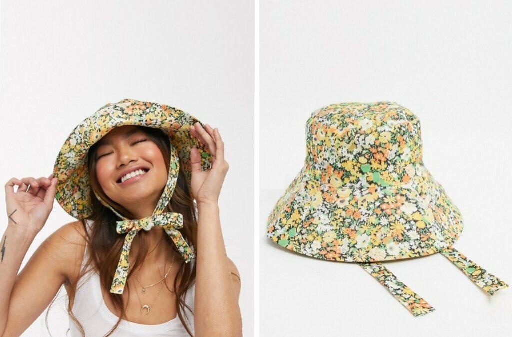 Sombrero Flores Bucket Hat