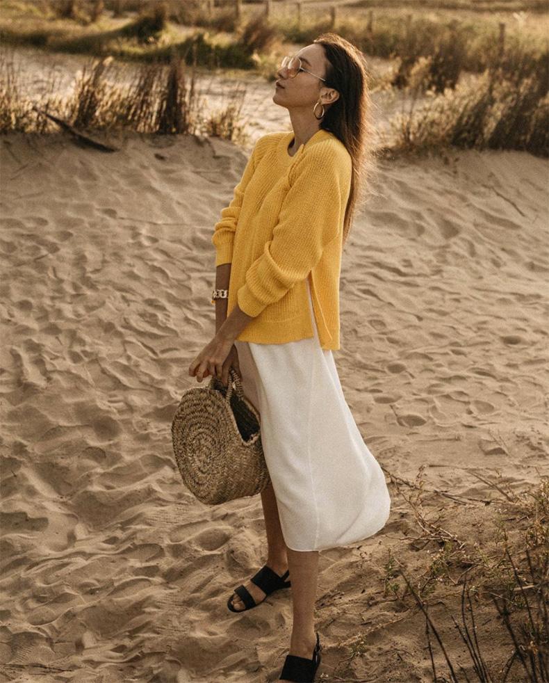 Amarillo color moda de 2021