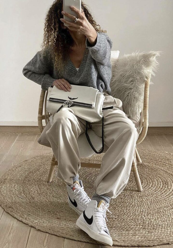 Nike Blazer look con zapas