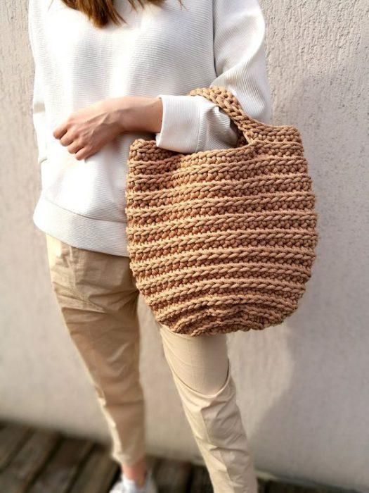 Bolso Verano 2021 Crochet
