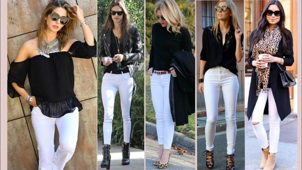 Jeans Blancos y cómo llevarlos ahora mismo