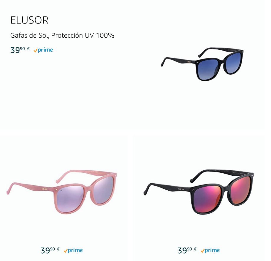 Catálogo Moda Gafas Blue Bay