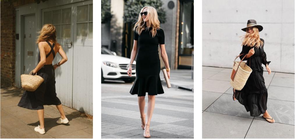 3 Vestidos Negros que interesa tener en Verano