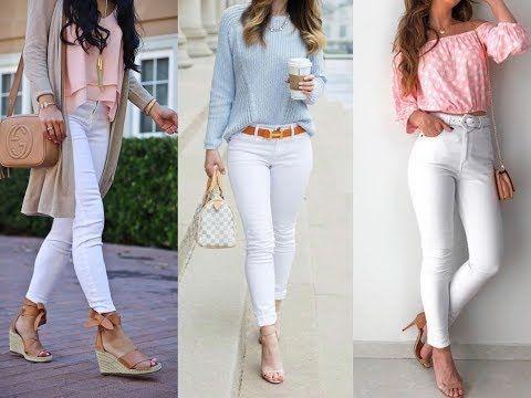 Pantalones Blancos Looks