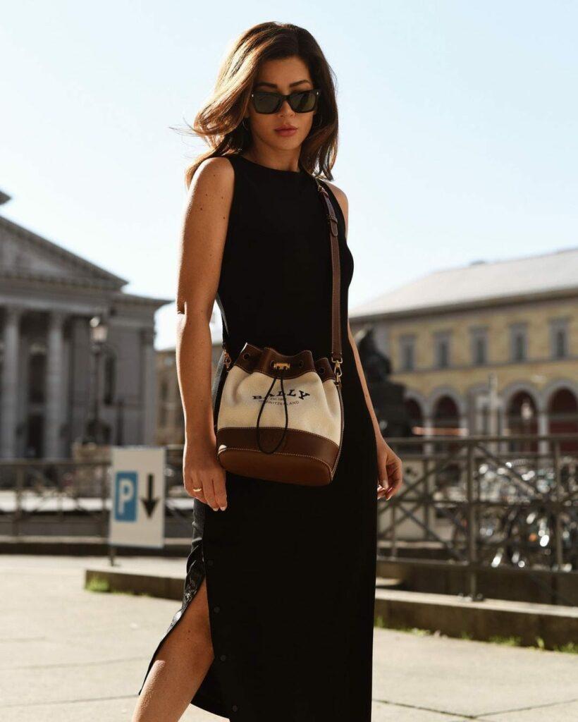 Vestidos Maxi en Negro
