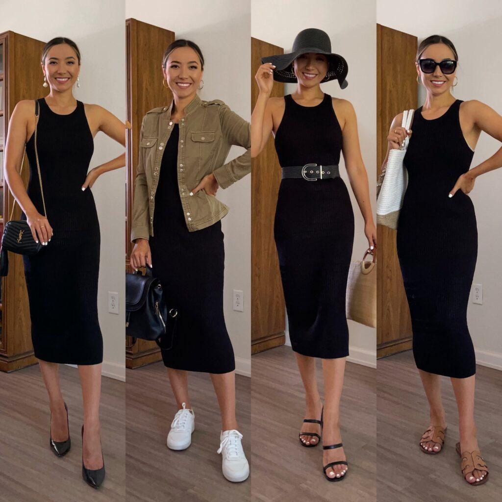 Ideas con vestidos en negro