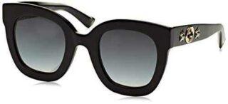 Gucci Sonnenbrille GG0208S-001-49 Gafas de sol b07534lx3g