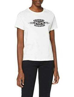 Pepe Jeans Margaret Camiseta Beige (Natural 816) b07zhkl1w4