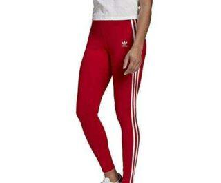 adidas GN8076 3 STR Tight Leggings Womens Scarlet 36 b08qwbwz7h