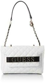 Guess Illy Convertible Crossbody Flap White Multi b08t5zbv1v