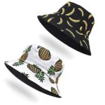 2Pcs Gorros Sombreros de Pescador b096b3knzx