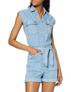 Pepe Jeans Gemini Peto 000denim L para Mujer b08d643wm6