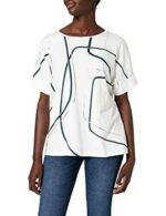 Gerry Weber T-Shirt 1/2 Arm Camiseta Blanco Hueso 46 b08wcvgsk6