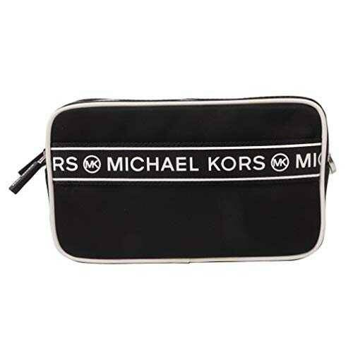 Michael Kors Logo Sport Tape Kenly Small Double Zip b08cs16plk