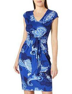 Desigual Vest_SIBILA Vestido Casual Azul XL para b08cn59ww2