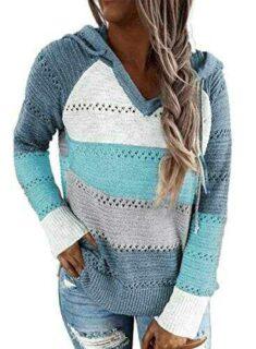 BLENCOT Mujer Sudadera Tops Chaqueta Suéter b08gs7m22n