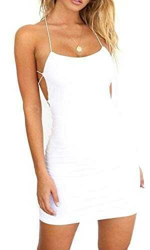 Vestidos Verano Mujer de Fiesta sin Mangas con b08yjpvg7b