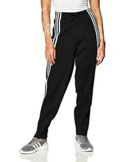 adidas W 3S Z DK Pant Pantalón Mujer Negro/Blanco L b08cbwgh87