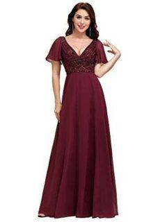 Ever-Pretty Vestidos de Dama de Honor Largo Escote b08d38zgwp