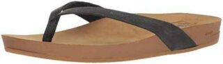 Reef Cushion Bounce Court Le Chanclas Mujer Negro b072ql41z8