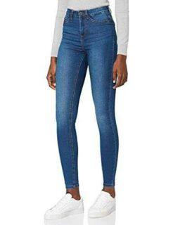 Noisy May NOS DE Nmcallie HW Skinny Jeans Vi021mb b07r26268j
