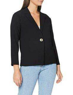 Pimkie VSW20 Savana Blazer Negro M para Mujer b08cl4cctw