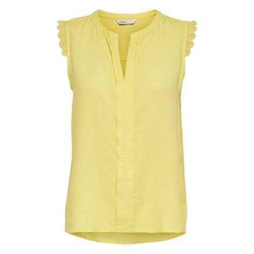 Only ONLKIMMI S/L Top WVN Noos Camiseta sin Mangas b08t9mgrss