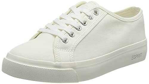 ESPRIT 041EK1W302 Zapatillas Mujer 101 White 2 40 EU b08gg6t6zp