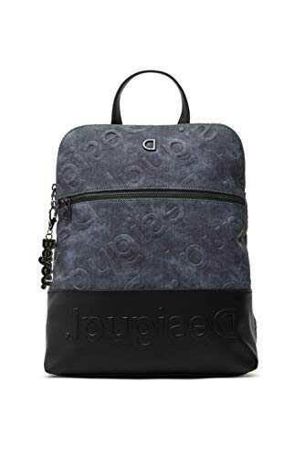 Desigual PU Backpack Medium Gorilla b08cxl7ffp