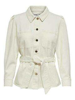 Only Onlmelrose LS Shirt Dnm Jacket York Chaqueta b08s43smrl