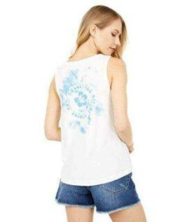 Roxy Camiseta sin mangas Stay Palmy Muscle para b07xfkbjlk