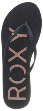 Roxy Sandy Sandal For Women Chanclas Mujer Azul b08gsvvwht