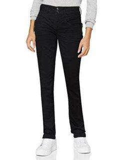 Street One 373461 Style Jane Casual Fit Jeans Black b08btmsch7