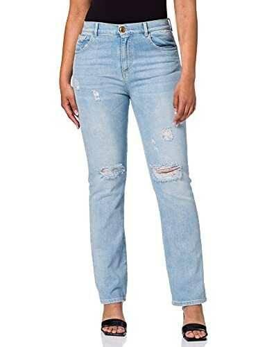 Pinko Futura 6 Jeans F14_Ombra BLU 30 para Mujer b08ff1zhz6