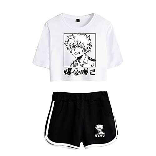 WWZY Anime My Hero Academia Impreso En 3D Bakugou b096sg88fw