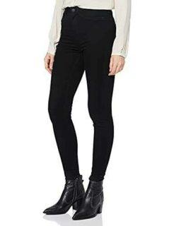 Noisy May NOS DE Nmcallie HW Skinny Jeans Vi023bl b07qzzj5sc