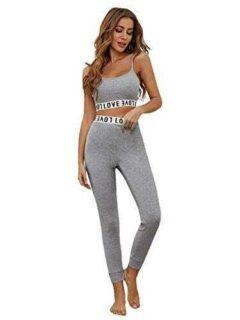 SOLY HUX Conjunto de camisola y leggings para mujer b08ynr6t8r