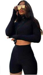 Carolilly Conjunto de 2 piezas de ropa deportiva b08fdhyzqm