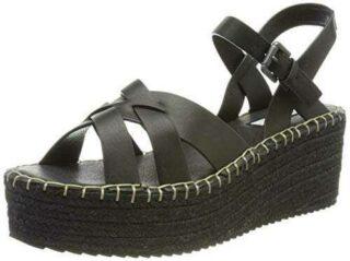 Pepe Jeans WITNEY River Sandalia. Mujer 999 Negro 39 b08gm831kz