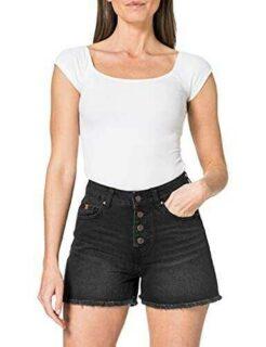 Inside 2SSH22 Pantalones Cortos de Jean 1 36 para b08t1kx1hr