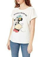 Springfield Camiseta Minnie Hawaii Blanco S para b08nw969kl