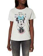 Springfield Camiseta Minnie Gris Oscuro L para b08nwccgfy