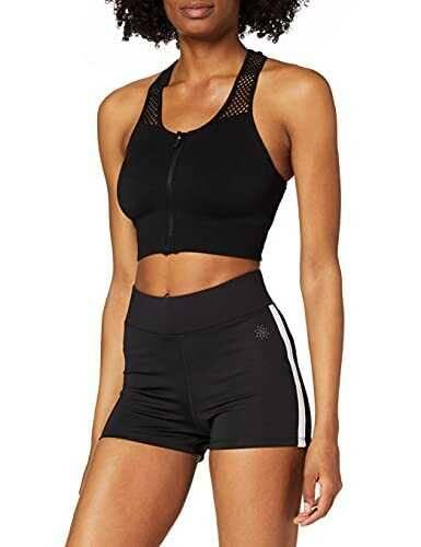 Marca Amazon AURIQUE Shorts de Deporte con Banda b07l47ntvg
