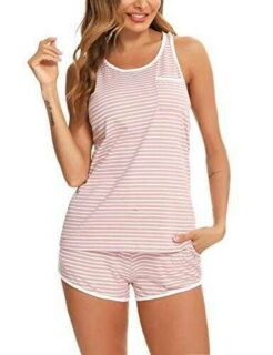 Doaraha Conjunto Pijama Corto Mujer Ropa de Dormir b08zyfkzqv