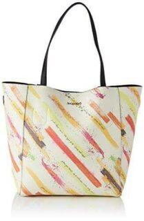Desigual PU Shopping Bag Bolsa de la Compra para b08cn4rwbl