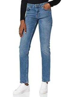 Noisy May NOS DE Nmjenna NW Straight Jeans Cs059mb b07r26243s